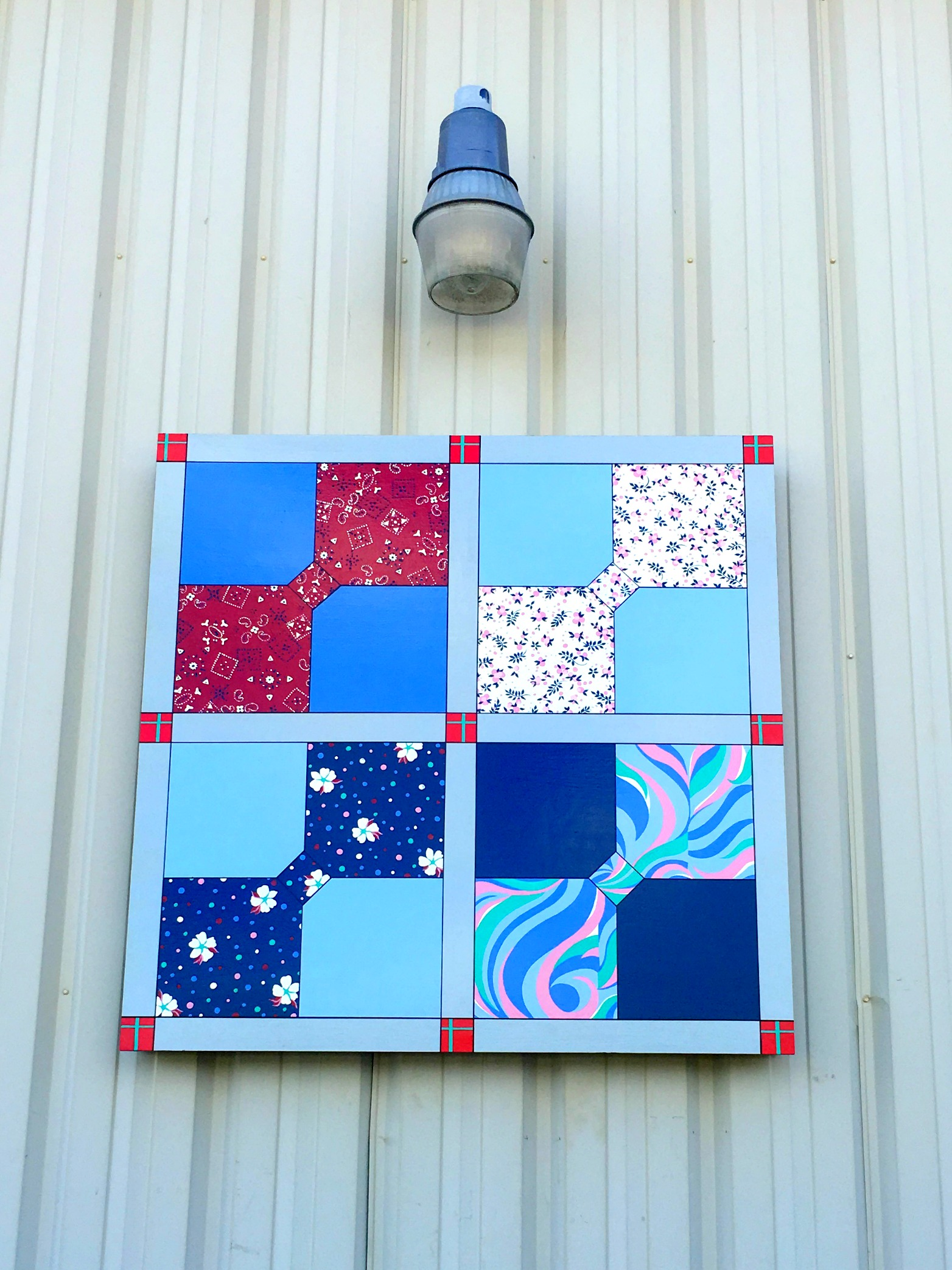 Quilt at Jimmie Council's Automotive